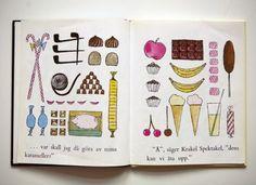 My favourite book spread ever - Stig Lindberg illustration.