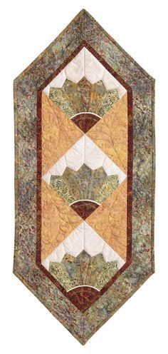 Oriental Fan: Eleanor Burns Signature Quilt Pattern