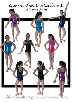 Or maybe I just buy a pattern. I like how the legs are cut lower. Maybe it will prevent the butt cheek pull out that plagues the world of gymnastics...