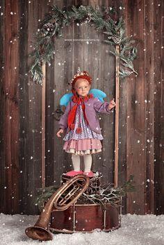 Детские фотопроекты - Рождественские ангелы