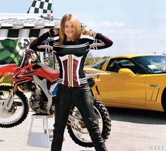 Dirt-bike style with Ashley Fiolek