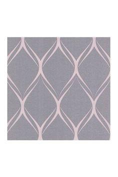 HauteLook | Ultra-Removable Eco Wallpaper: Gustav Purple Geometric Wallpaper