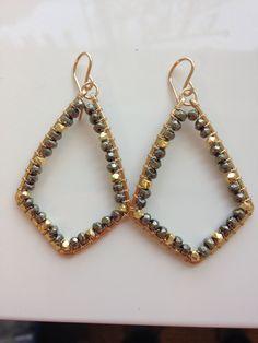 New! Pyrite Abby! Info@sonyarenee.com to purchase #srjewelry