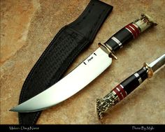 Doug Noren Custom Scagel Style Camp Knife Visit the best places in America to go camping at http://www.reserveamerica.com/