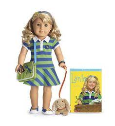 american girl | ... own backyard. She's Lanie, American Girl's 2010 doll/girl of the year I love her