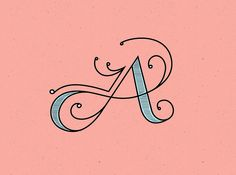 A alphabet lettering Types Of Lettering, Lettering Styles, Brush Lettering, Lettering Design, Typography Love, Typography Letters, Graphic Design Typography, Japanese Typography, Calligraphy Letters