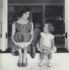 Jackie and Caroline