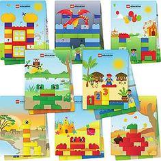 LEGO Education | Products  Preschool  DUPLO Creative Builder Cards