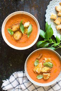 Tomato and Watermelon Gazpacho Recipe