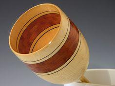 No. 228 Woodturning Segmenting Wood Vessel by DonLemanWoodArtist