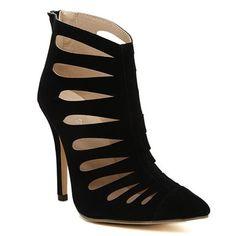 Elegant Stiletto Heel and Hollow Out Design Women's PumpsPumps | RoseGal.com