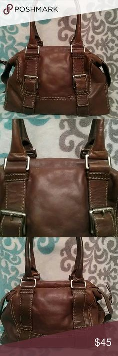 Michael Kors Vintage Satchel Authentic Michael Kors vintage satchel, very durable all leather, fully lined with key minder, medium size, good condition. Michael Kors Bags Satchels