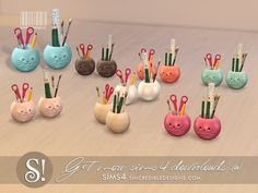 Jules wall school supplies by SIMcredible! Lotes The Sims 4, Sims 4 Mm Cc, Sims Four, My Sims, Sims 4 Mods, Sims 4 Bedroom, Teen Bedroom, Sims 4 Anime, Muebles Sims 4 Cc