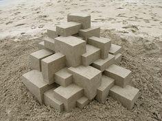 Castelos de areia de Calvin Seibert