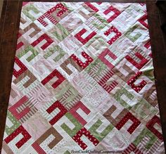 Mistletoe Lane Quilt Tutorial