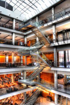 OSU Thompson Library The Ohio State, Ohio State University, Main Library,  Columbus Ohio