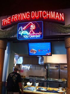 The frying dutchman - In Universal Orlando Resort's Springfield area near their Simpson's Ride.