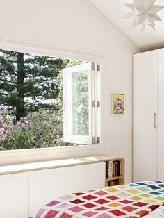 Interior Concept, Interior Design, Window Seat Kitchen, Bright Rooms, The Design Files, Windows And Doors, Interior Inspiration, Master Bedroom, Living Spaces