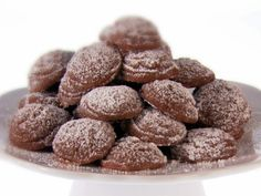 Chocolate-Hazelnut Drop Cookies.  These are so easy and so good (especially if you love Nutella:) Just make sure to use only 1/4 cup of powdered sugar in the actual dough. The 1 cup of sugar is for rolling the cookies in after they've baked. Great for kids too! Enjoy!