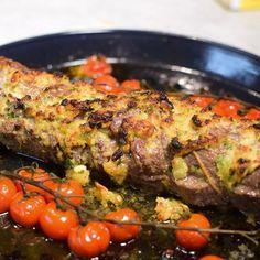 Ytrefilet av okse med kremet nøttefyll😋🍴 #norgesgladestematblogg #janhenriksgladekjøkken #gladkokken  #matglede #mat #matblogg #followme #chefsoninstagram #delicious #siemens #food #oppskrifter #middagstips #middag #instafood #okse #biff Meatloaf, Tandoori Chicken, Sausage, Pork, Ethnic Recipes, Kale Stir Fry, Meat Loaf, Pigs, Sausages