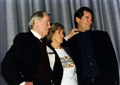 Tim Dalton with Peter O'Toole and Jane Merrow at the Academy's 2001 London screening of The Lion in Winter Shirley Knight, Nancy Allen, Uk Actors, Timothy Dalton, Peter O'toole, Lion, Interview, Cinema, Magazine