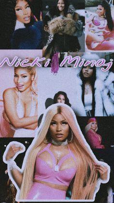 Nicki Minaj Fotos, Nicki Minaj Fashion, Nicki Minaj Barbie, Rapper Wallpaper Iphone, Funny Phone Wallpaper, Rap Wallpaper, Film Aesthetic, Bad Girl Aesthetic, Nicki Minaj Drawing