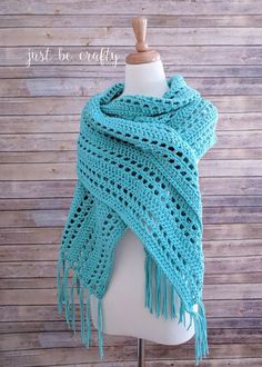 Sunset Beach Wrap Crochet Pattern - Free Pattern by Just Be Crafty Get ready to jump into summer with this lightweight breezy crochet Pattern! The Sunset Beach Wrap Crochet Pattern will be your go-to piece this summer for days and evenings at the beach! Crochet Prayer Shawls, Crochet Shawls And Wraps, Crochet Scarves, Crochet Clothes, Crochet Hats, Crochet Dresses, Prayer Shawl Crochet Pattern, Crochet Tunic, Crochet Sweaters