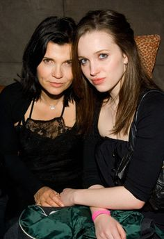 Bono's daughter Jordan with her mother Ali Hewson