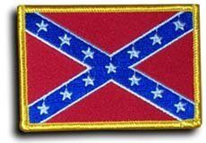 Confederate - Country Rectangular Patches by Flagline. $3.99