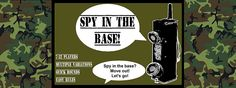Spy In The Base party game.