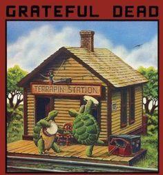 "Grateful Dead ""Terrapin Station"" Arista Records LP Vinyl Record US Pressing Album Cover Art by Alton Kelley Grateful Dead Albums, Grateful Dead Album Covers, Grateful Dead Vinyl, Cover Art, Lp Cover, Stanley Mouse, El Rock And Roll, Dead And Company, Pochette Album"