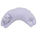 Angel Dear curved pillow - hippo