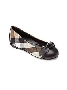 Burberry Toddler's & Kid's Yaxley Flats