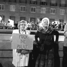I don't know who these women are or what they are protesting, but I they are awesome!