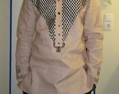 African Clothing for Men African Print Clothing by AfricaBlooms