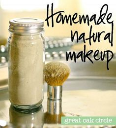 Homemade Natural Makeup Recipe... I had no idea you could make this kinda thing yourself #diy #makeup