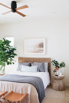 Camille's Beach-Inspired Guest Room Reveal - Camille Styles