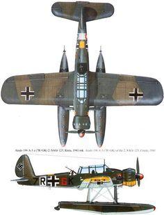 Arado 196 A-3z Creta 1941
