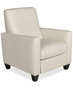"Emilia Leather Recliner, 31""W x 35""D x 37""H - LIMITED-TIME SPECIALS - furniture - Macy's"