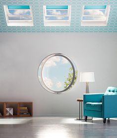 From bathroom decor and kitchen lighting to improved indoor air quality, VELUX skylights transform any space with daylight and fresh air