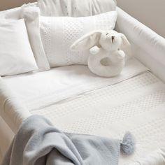 New Born Percale Mini Quilt | ZARA HOME United Kingdom