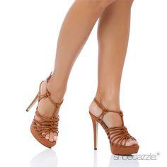 Drip drop in this cognac... Shoe Dazzle.com