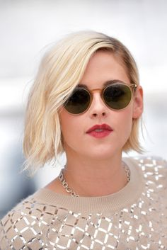 Kristen Stewart in Cannes - Personal Shopper Photocall