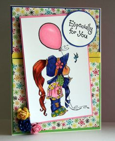 Adorable handmade Especially for You card by rbowen on Etsy, $5.00