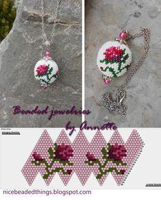 Гарненькі бісерні штучки   Beaded jewelries by Annette: Троянда королеви…