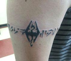 Skyrim tattoo