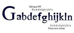 Tipografía I.  Unión de dos familias tipográficas. Facundo Lopez Sigon