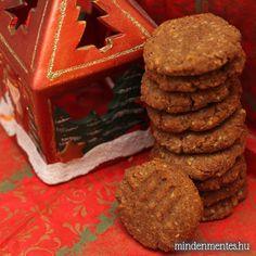 MÉZESKALÁCS Sin Gluten, Lactose Free, Gluten Free, Vegan Christmas, December 2013, Free Food, Food And Drink, Cookies, Baking
