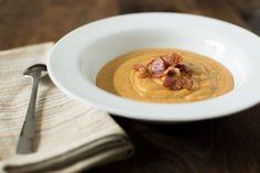 Bacon Butternut Squash Soup #CivilizedCavemanCooking