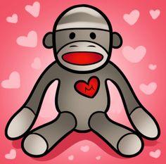 How to draw a sock monkey by dragonart.com